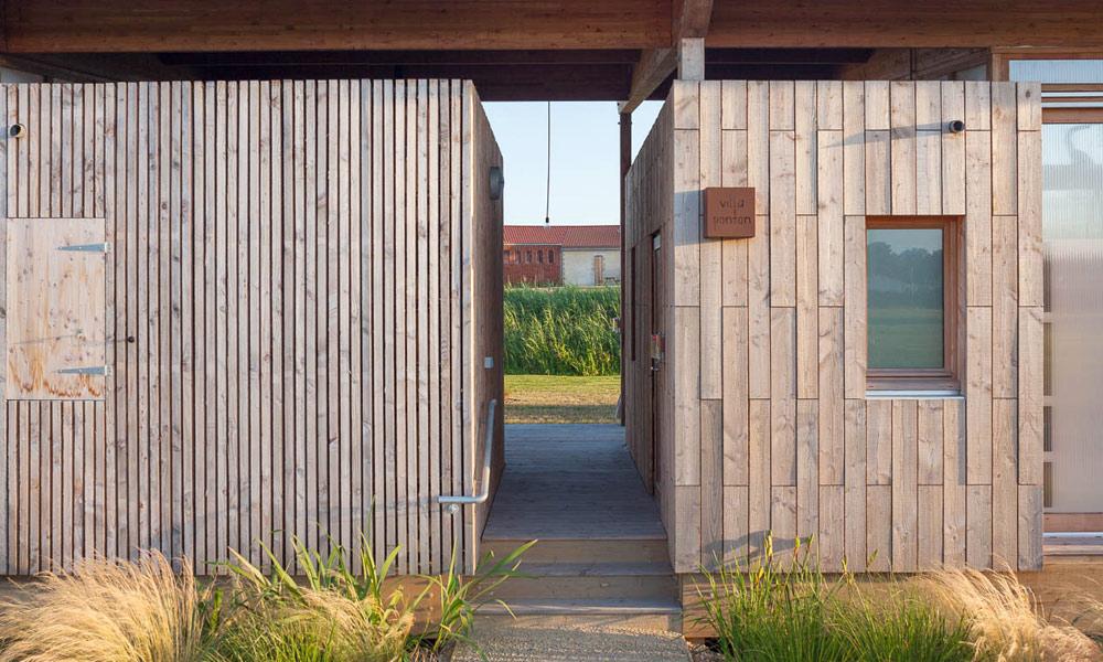 Villa ponton écolodge Vendée