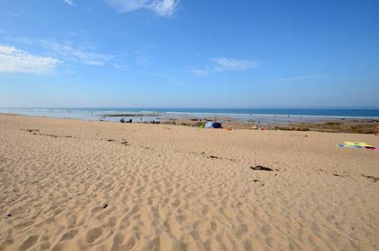 Plage des Dunes à Brétignolles