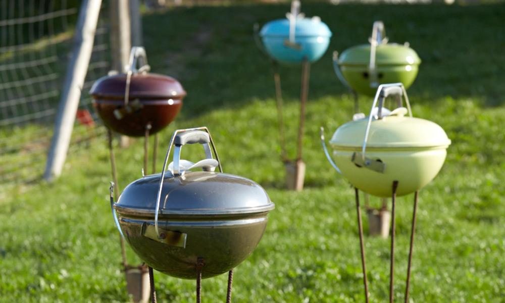Barbecue villa ponton 1 Marais Girard