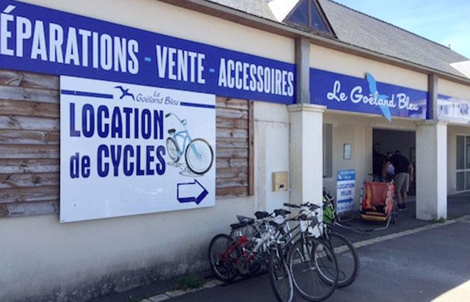 Le Goëland loueur de vélos