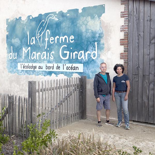 Marylou et Damien vous accueillent à la Ferme du Marais Girard