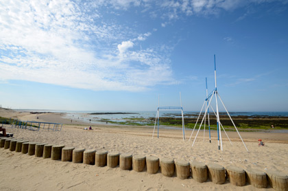 La plage du Marais Girard à Brétignolles