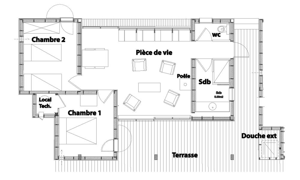 Plan du ponton n°3