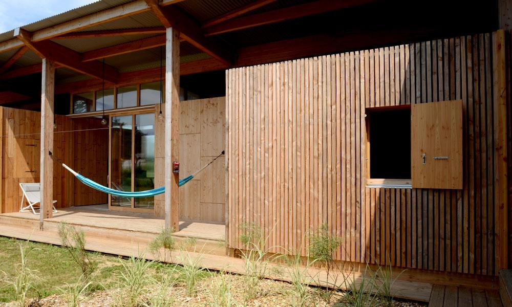 Terrasse - villa ponton n°3