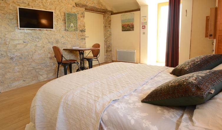 Voir Chambre « Le Marais Girard » – 20 m2 - 2 pers.