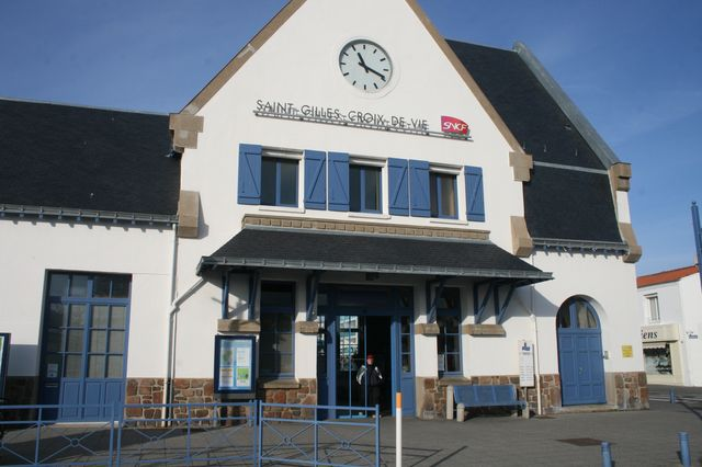 La gare SNCF de St Gilles