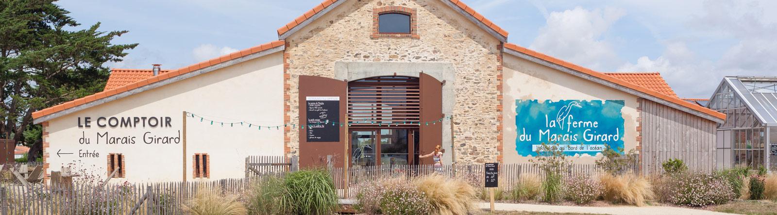 Comptoir bar salon de thé Brétignolle sur Mer