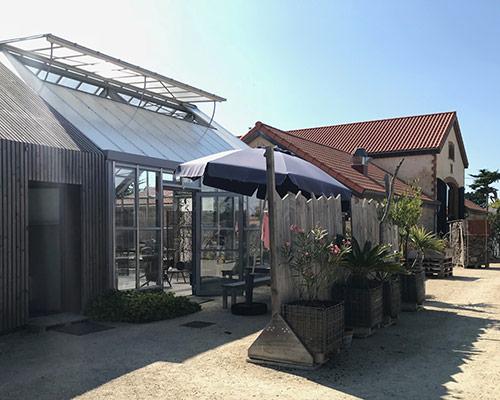 La ferme du Marais Girard » Le jardin potager et la serre